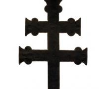 A győri vaskakas Kovácsolt rúdon réz-, ill. vaslemezből hideg megmunkálással, festéssel 2145 x 450 x 50 mm. 1872-ben került a bencés gyűjteménybe (Fg.É 1872/73-34.)