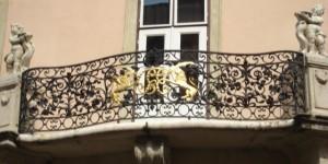 Esterházy-palota erkélyrácsa