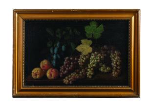 Izbighy Vörös István: Gyümölcscsendélet