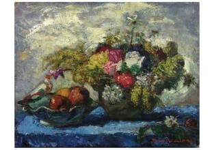 Iványi Grünwald Béla: Virágcsendélet