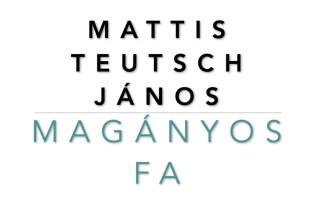 Irodalom és képzőművészet – Mattis Teutsch János: Magányos fa
