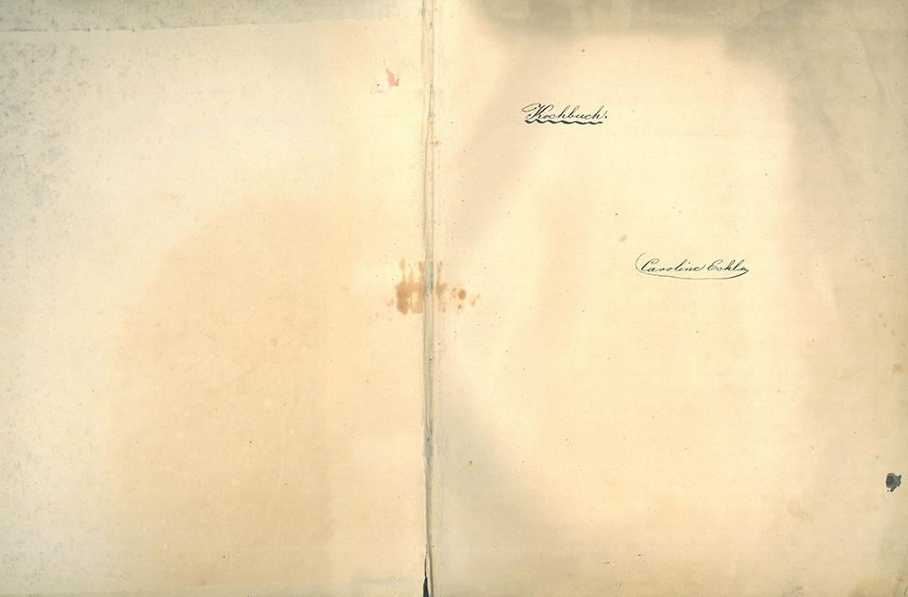 Eckl Karolina szakácskönyve. Ltsz.: C.65.73.18.
