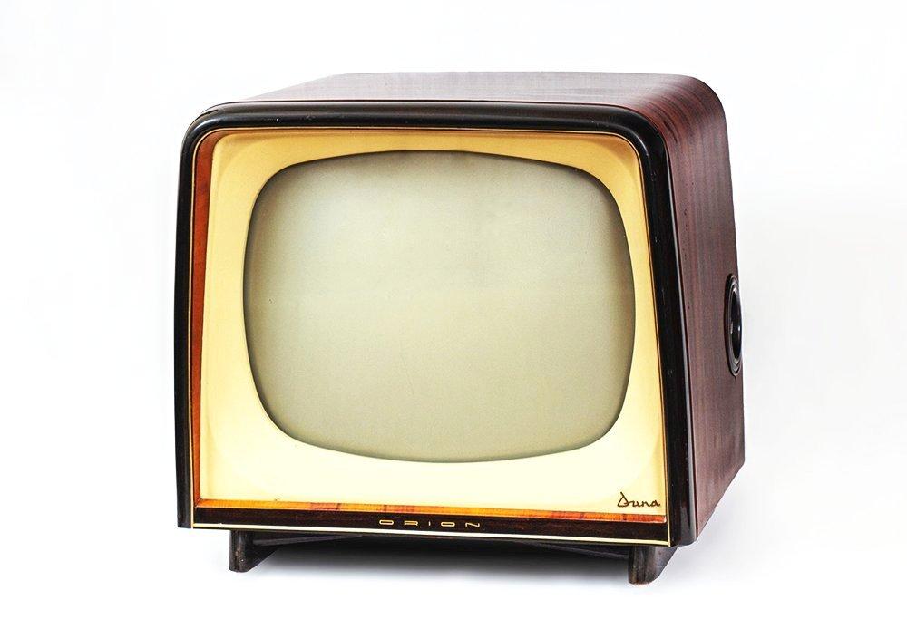 3. kép. – Orion Duna tévé. Leltári szám: RHT.2020.33.3. Méretek: 57 x 56 x 57 cm