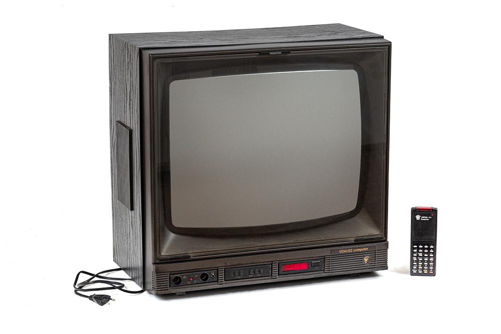 5. kép. – Orion Vénusz Computer 08 tévé. Leltári száma: RHT.2020.33.4. Méretek: 54 x 57 x 46 cm