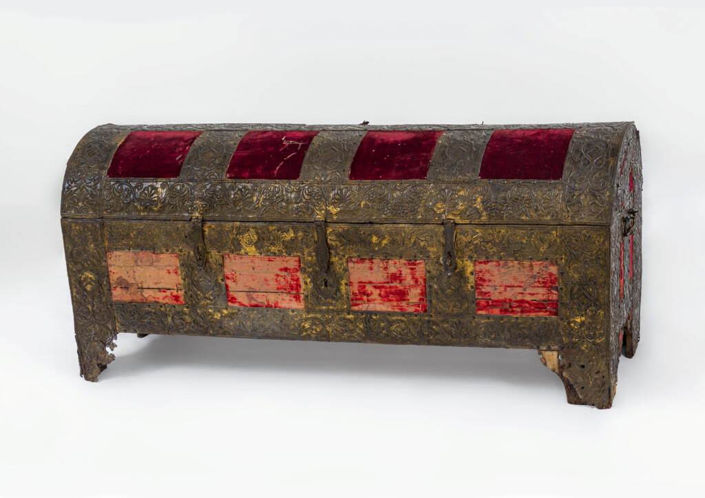 Kelengyeláda. XVII. század, Észak-Itália; Ltsz.: IP.65.71.1.