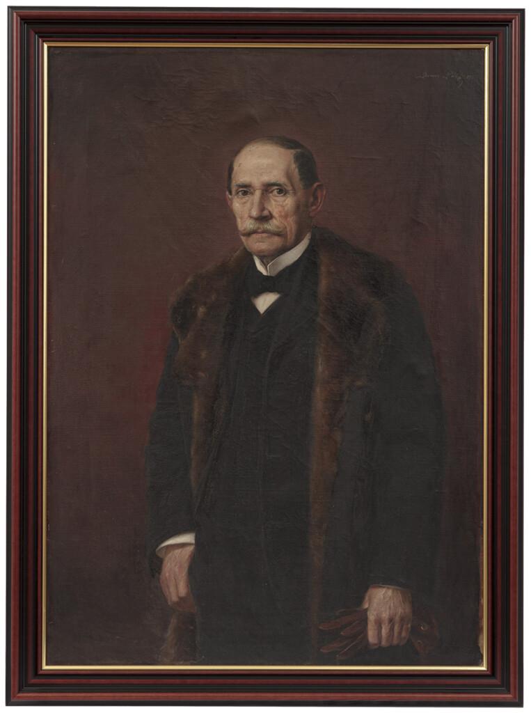 Benes Pál: Bálint Mihály arcképe. 1915, olaj; méret: 113×80,5 cm. Ltsz.: K.55.92.1.