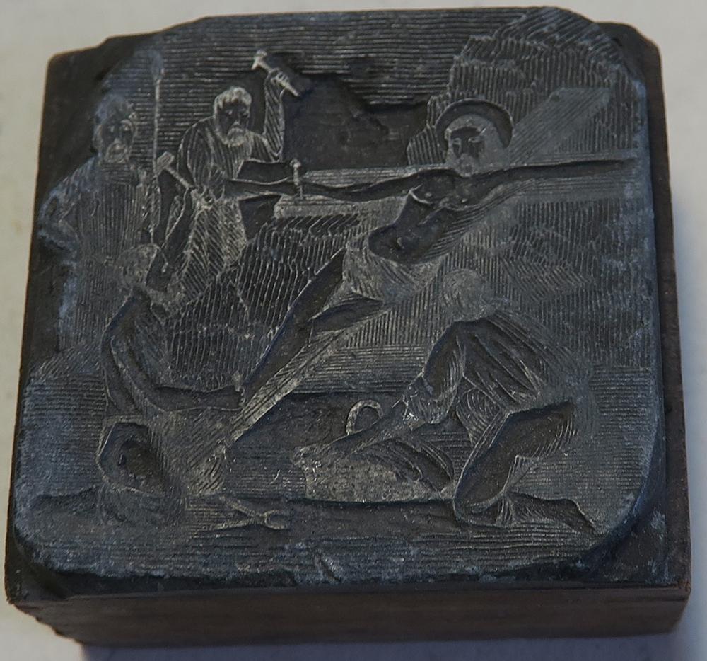 C.68.4.75.  XI. stáció: Jézust a keresztre szegezik