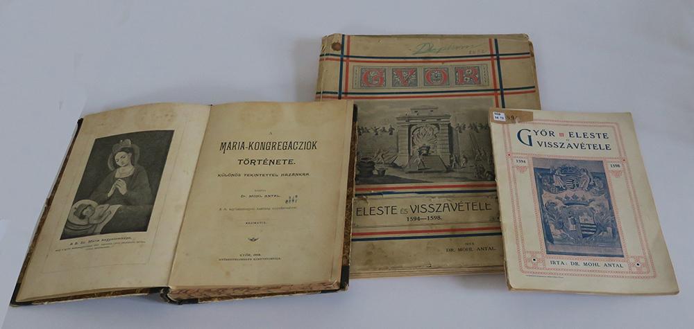 Mohl Antal könyvei